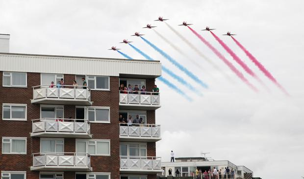 Bournemouth Air Festival 2014: is it going to rain?