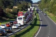 Thousands of people stuck in two hour delays on A338 after Bournemouth Air Festival