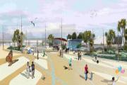 A computer generated picture of how Bournemouth Pier Approach could look