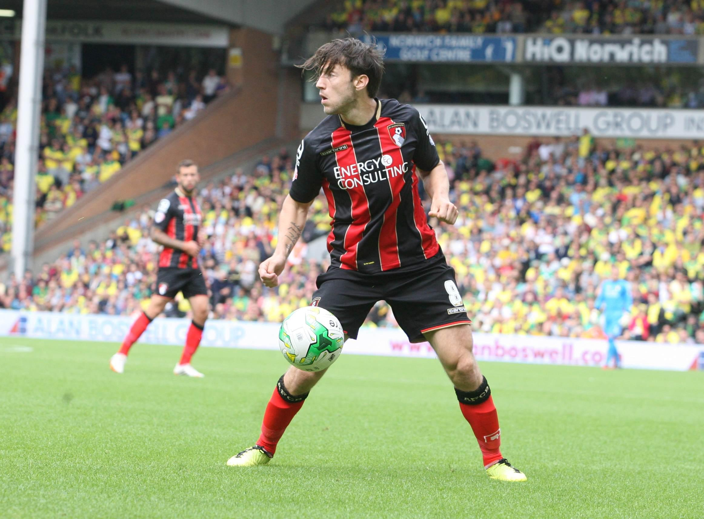 ON THE BALL: Harry Arter