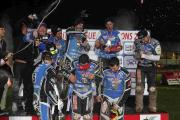 WINNERS: Poole Pirates are crowned 2014 Elite League champions