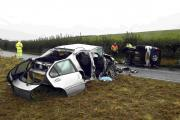 Inquest opens into A35 crash