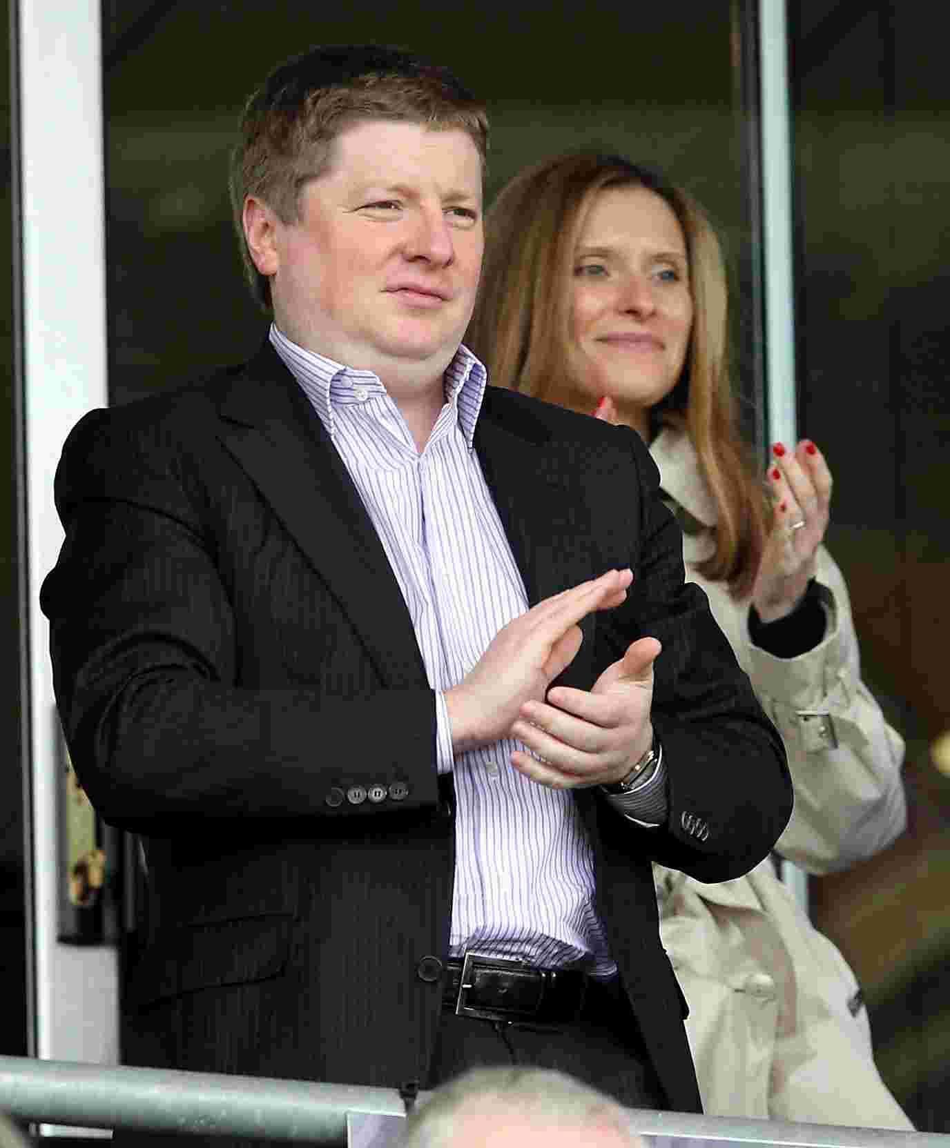 Happy AFC Bournemouth owner Maxim Denim