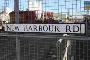 New  Harbour Road where the immigrants  were found