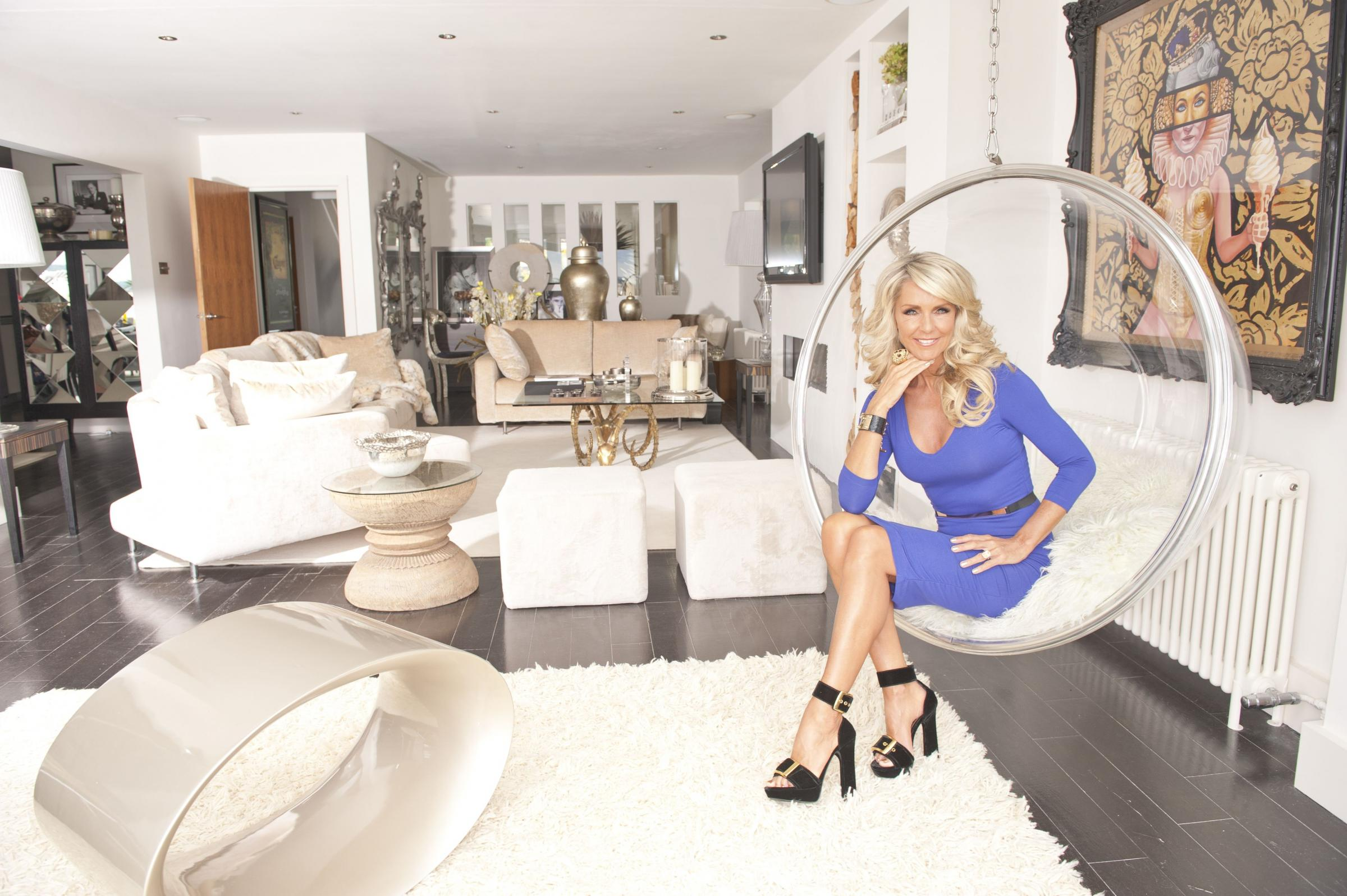 Interior designer Celia Sawyer talks being tough on her makeover show, jogging bottoms and luxury homes