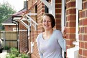 MOVING IN: Sarah Cracknell who has just moved in with her family