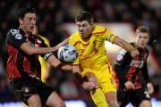 SKIPPER: AFC Bournemouth's Tommy Elphick (left)