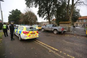 Man arrested after reports of air rifle fired at groundsmen working outside Highcliffe School