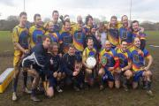 DREAMING OF TWICKENHAM: East Dorset RFC celebrate