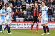 FRUSTRATED: AFC Bournemouth's Marc Pugh