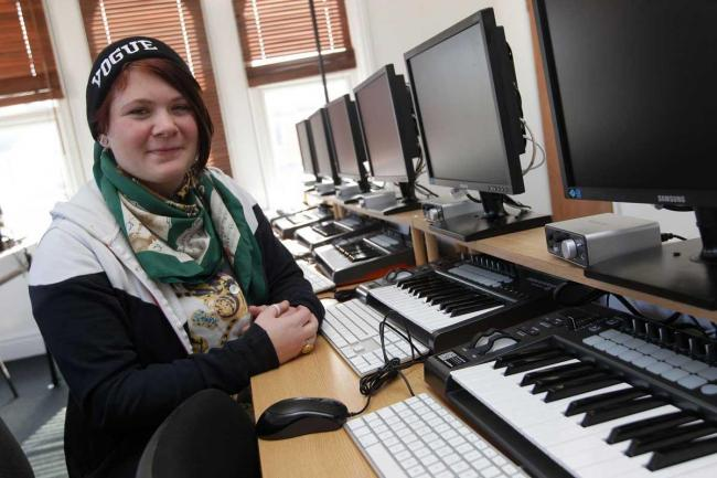ODDS EVER IN HER FAVOUR: Lizzy Proctor, who is working on the musical score for the new Hunger Games film