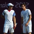 Bournemouth Echo: British fans are unlikely to see the Murray doubles act at this weekend's Davis Cup tie