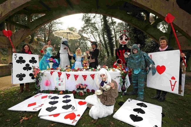 A treasure hunt and mad hatters tea party have an easter go mad free family fun to mark 150th anniversary of alice in wonderland negle Images