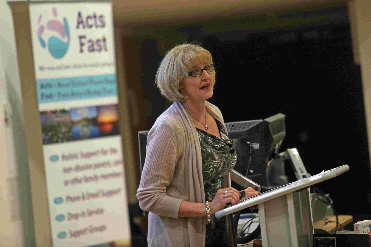 "VIDEO: ""We all know a child being abused"" – mum speaks out at conference on grooming"