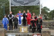 PODIUM PRIDE: Little Hornets academy members at Matchams