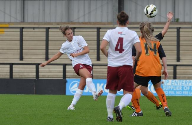 ... top table of women s football. By Steph Clark. NEW ARRIVAL  Rachel Lee  became Durham s fifth summer signing after joining from Bradford City  yesterday 6cb2f3dbe9