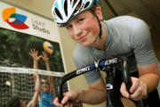 LeAF Studio student Ali Fielding, 15, from Bournemouth is on-track to Olympic stardom after being selected for the Great British Cycling Team's Olympic Development Programme (ODP).