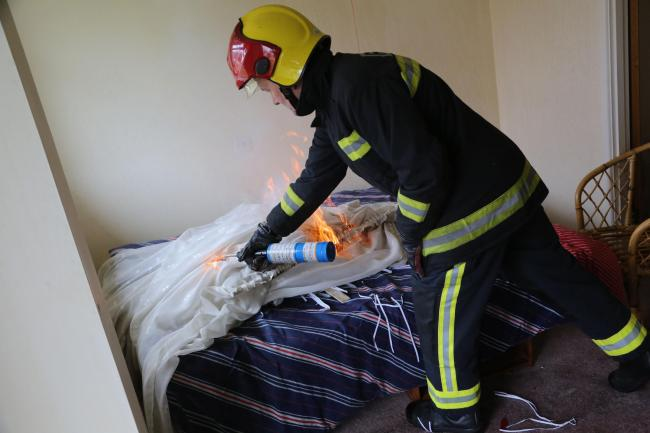Money to burn: £90,000 cash found under bed at derelict house - by firefighters about to set fire to it