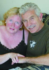 Poole pensioners Alan Lane and Katrina Smith pictured in 2006
