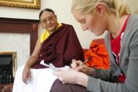 Buddhist leader tells of Tibet peace hopes   Bournemouth Echo