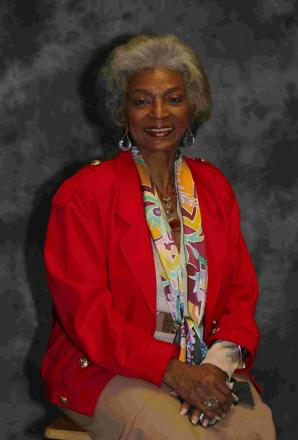 HAILING FREQUENCIES OPEN: Nichelle Nichols, who played Lt Uhura in the original Star Trek series, at the Carrington House Hotel, Bournemouth<p>Picture: Hattie Miles