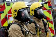 Three people and two dogs rescued after flat fire in Boscombe