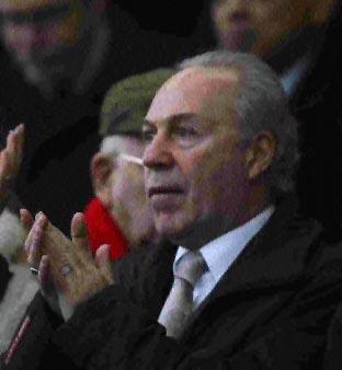 CHAIRMAN: AFC Bournemouth's Jeff Mostyn