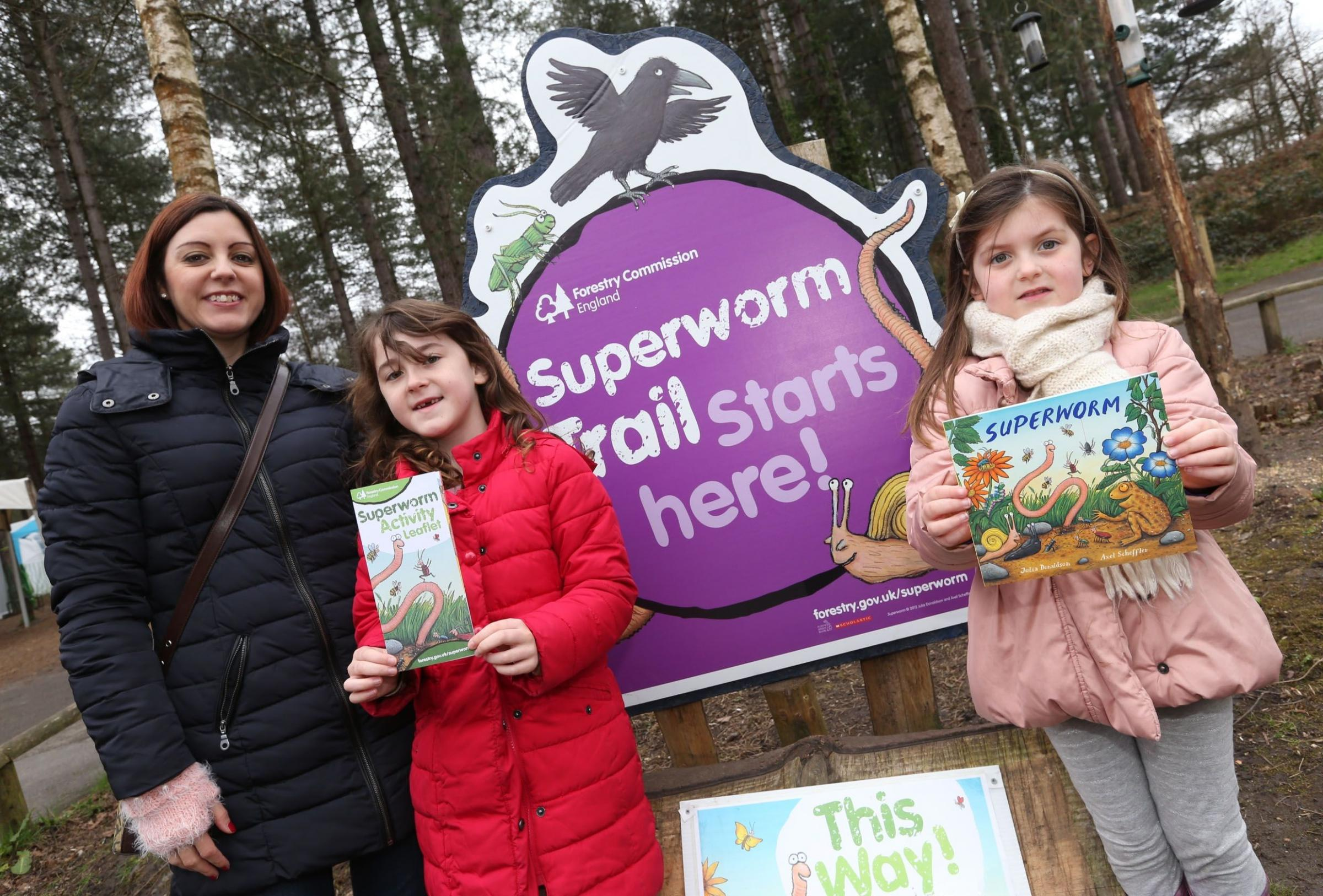 New Superworm trail comes to Moors Valley Country Park