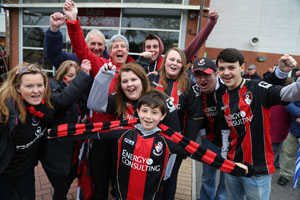 Bournemouth Echo: AFC Fans web