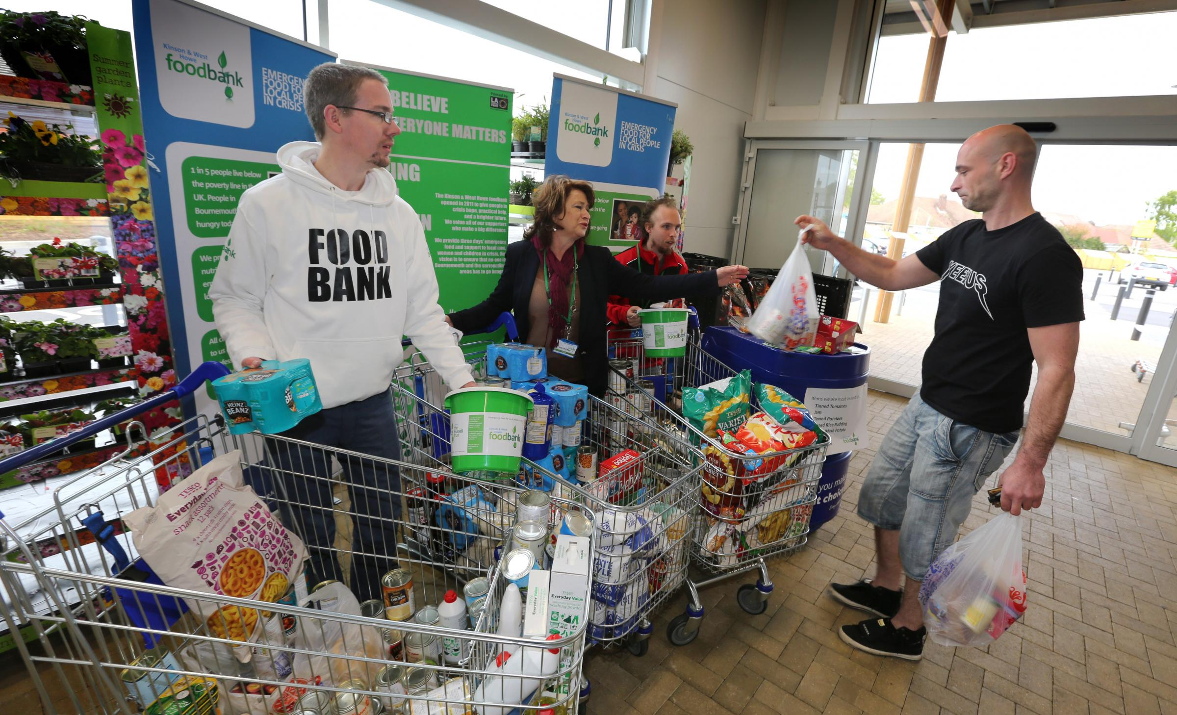 Nearly Two Tonnes Worth Of Donations Collected At Tesco