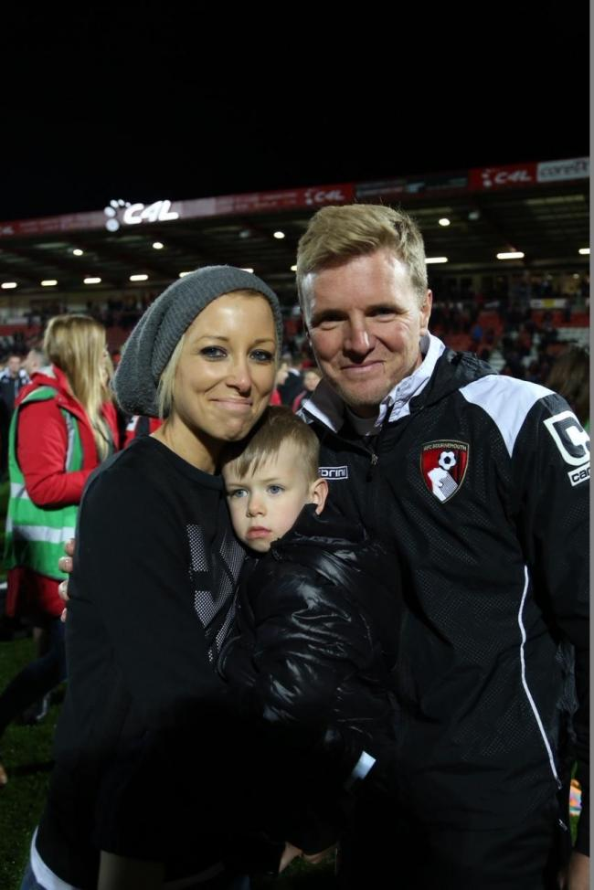 Afc Bournemouth Boss Eddie Howe Hopefully Mum Can See What Has Happened Bournemouth Echo