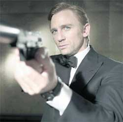 FIRST OUTING: Daniel Craig stars as James Bond in Casino Royale