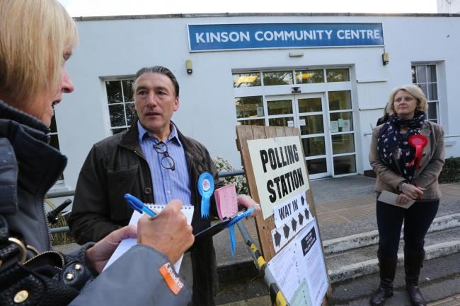 Kinson voters told to come back later after polling stations sent wrong ballot papers