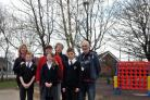 The playground at St Joseph's School was renovated after it received a grant from the regional panel of Sovereign Housing Association