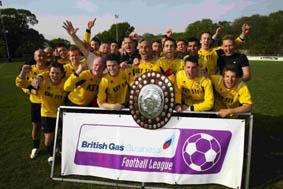 HAPPIER TIMES: Bashley could be saved by a three-man consortium