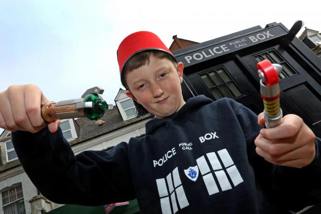 Meet Tom, the nine-year-old blogger who's spent the last year following in the Doctor's footsteps