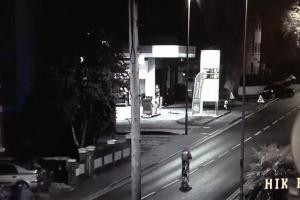 WATCH: Raiders who blew up petrol station cash machine caught on CCTV