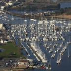 Bournemouth Echo: TOWN OF THE YEAR: Lymington from the air