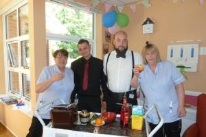 New tearoom and beauty salon at community hospital to help dementia sufferers