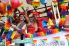 Smiles all round as Bournemouth's Pride festival kicks off with huge parade. Pics: Sally Adams