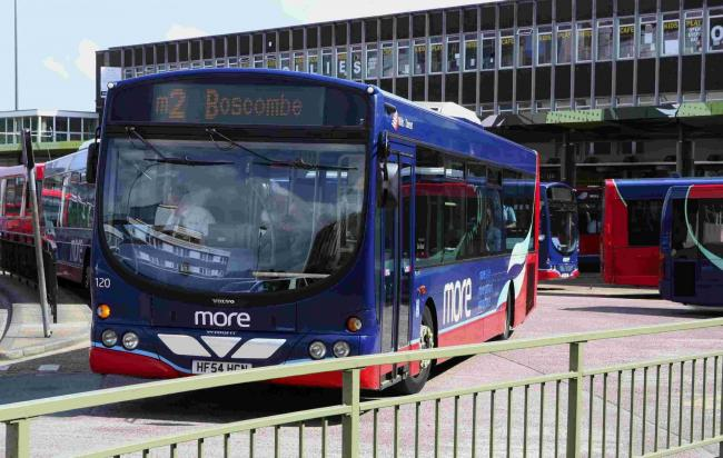 Morebus at Poole Bus Station