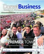 Bournemouth Echo: Dorset Business June 2015 cover