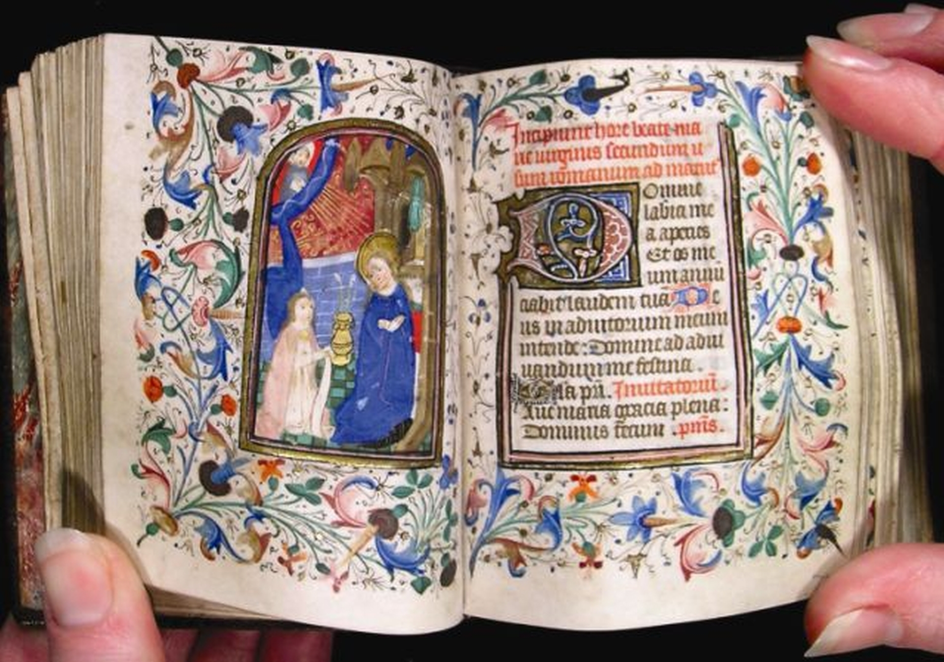 TURN-UP FOR THE BOOKS: Jean Preston's miniature book of hours