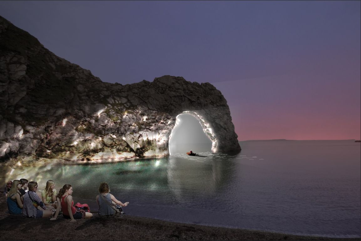 Picture Michael Grubb Studio & NOHL: what you need to know about Durdle Door being illuminated ... pezcame.com