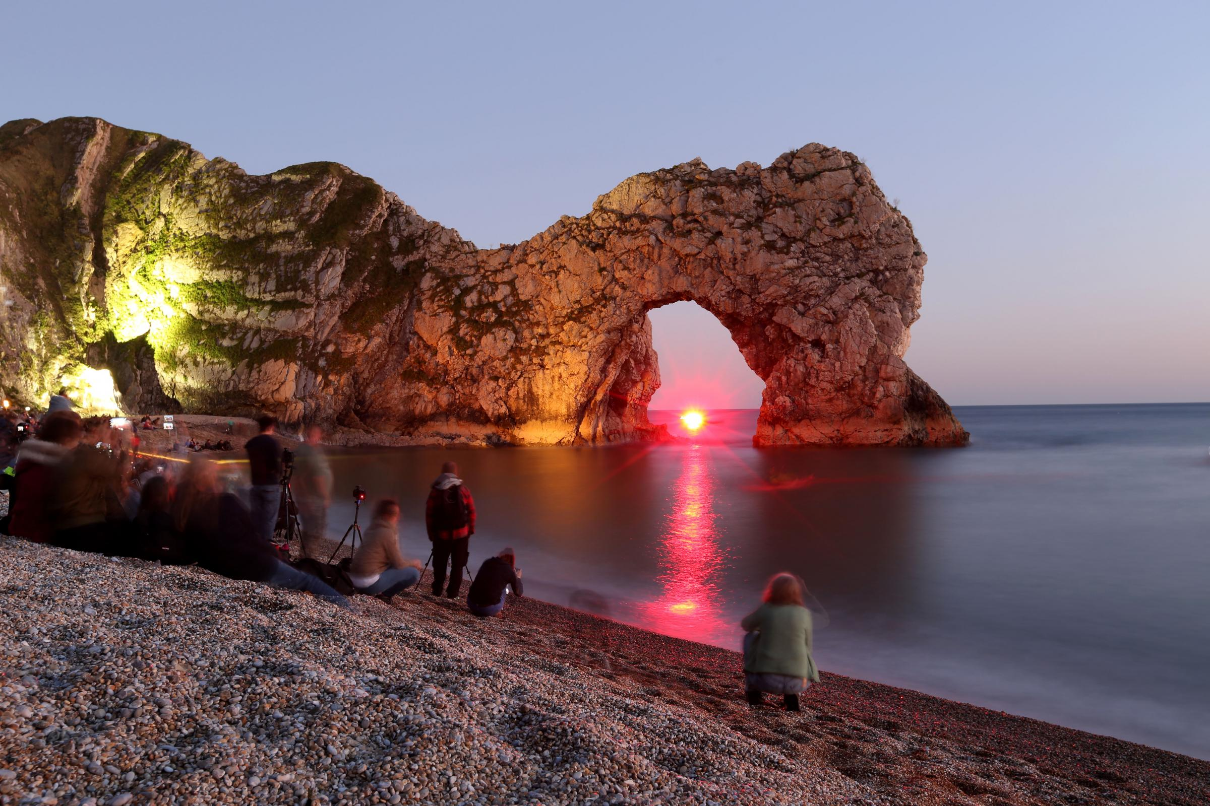 Buy this photoAll the pictures of the Durdle Door Night of Heritage Light Durdle Door was illuminated for one night only as part of the Night of Heritage ... & All the pictures of the Durdle Door Night of Heritage Light ...