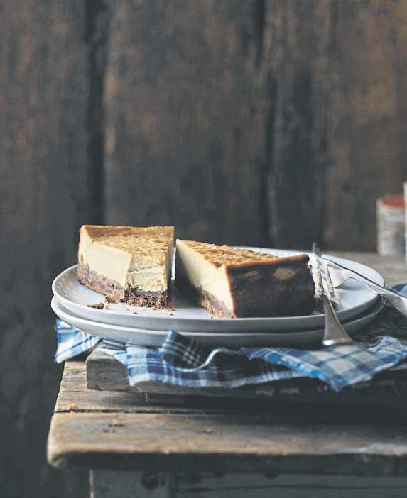 Recipe: Rachel Allen's Irish Cream Liqueur Baked Cheesecake