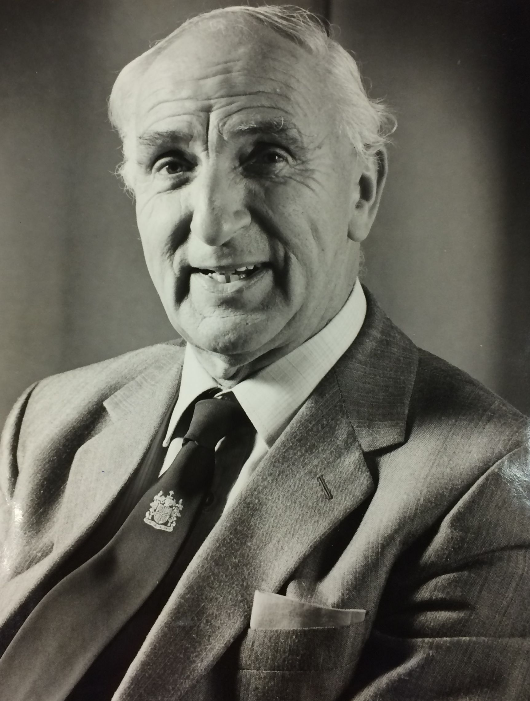 Philip Whitelegg, pictured in 1989, who has died at the age of 98