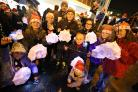 GALLERY: Hundreds light up Poole on wet and windy night for lantern parade