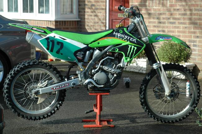 Two motocross bikes and a bicycle have been stolen from a property in Gillingham.