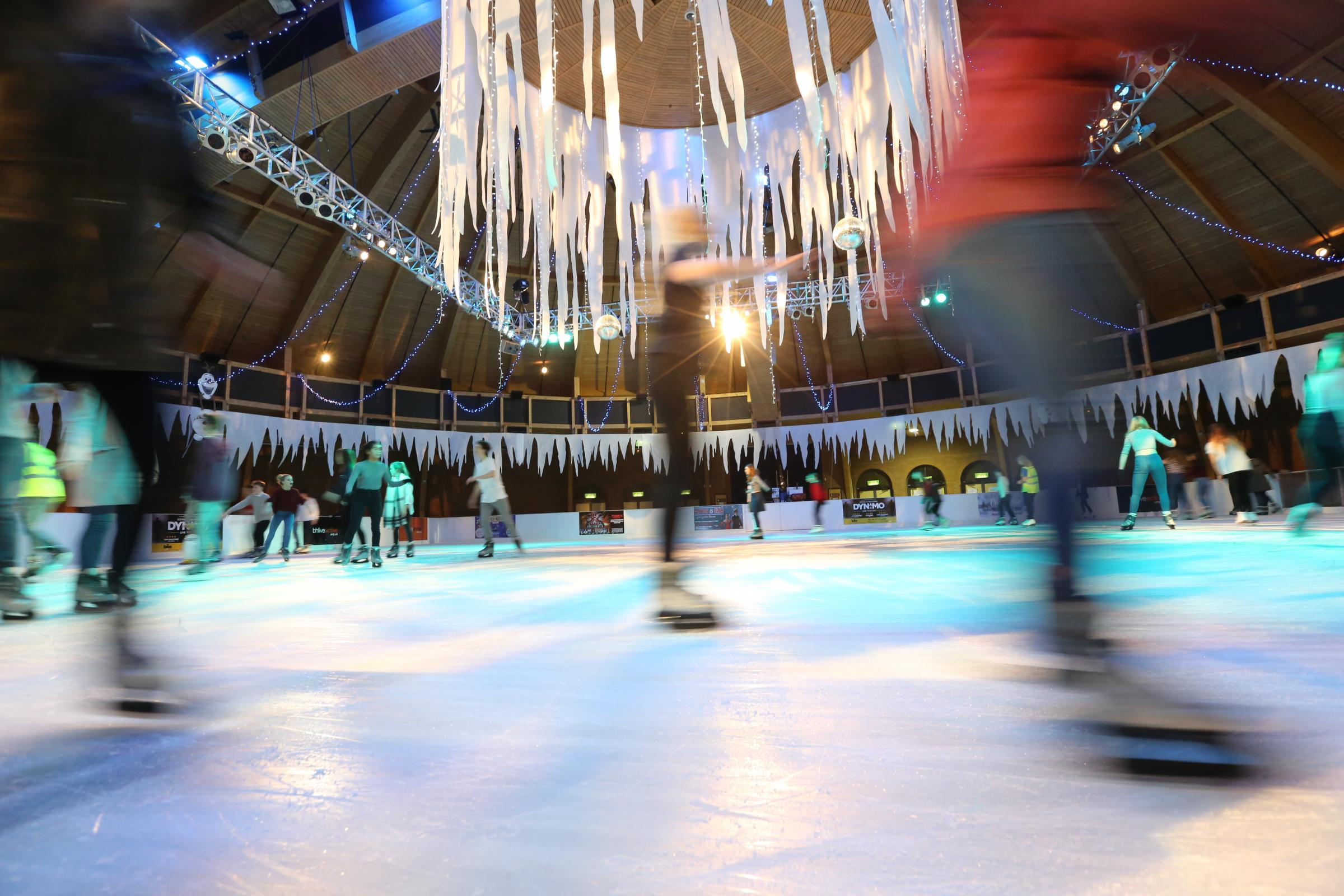 Get your skates on! south coast's biggest indoor ice rink ...